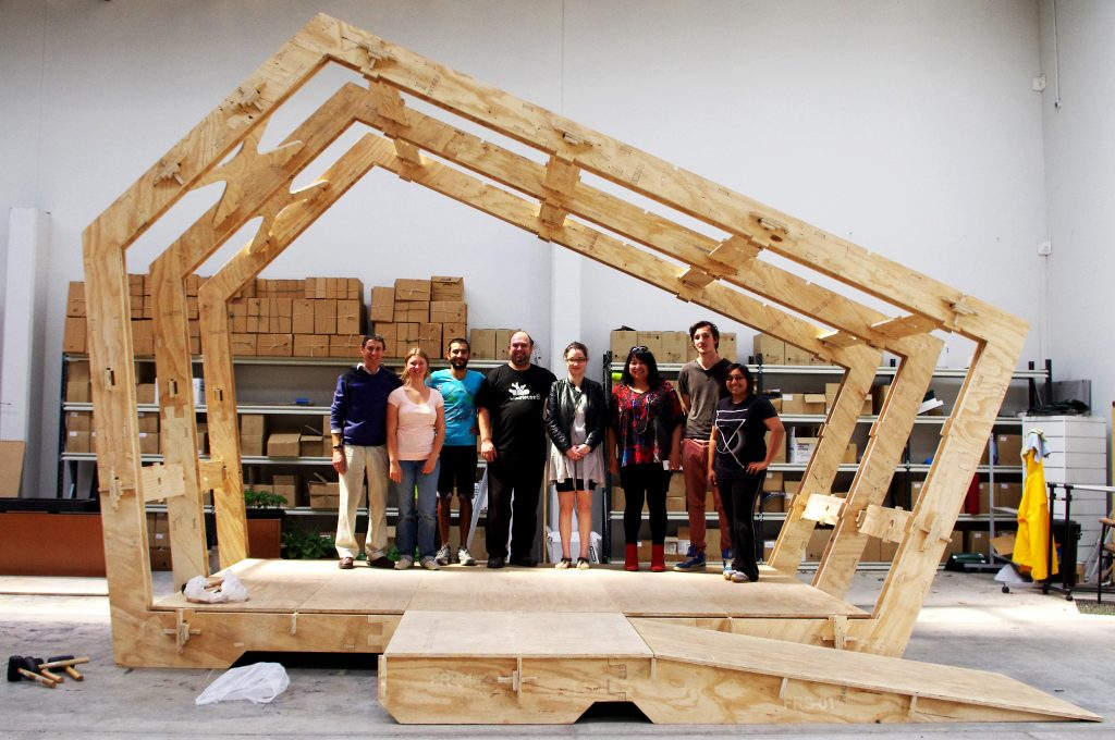 WikiHouse frame © SpaceCraftSystems