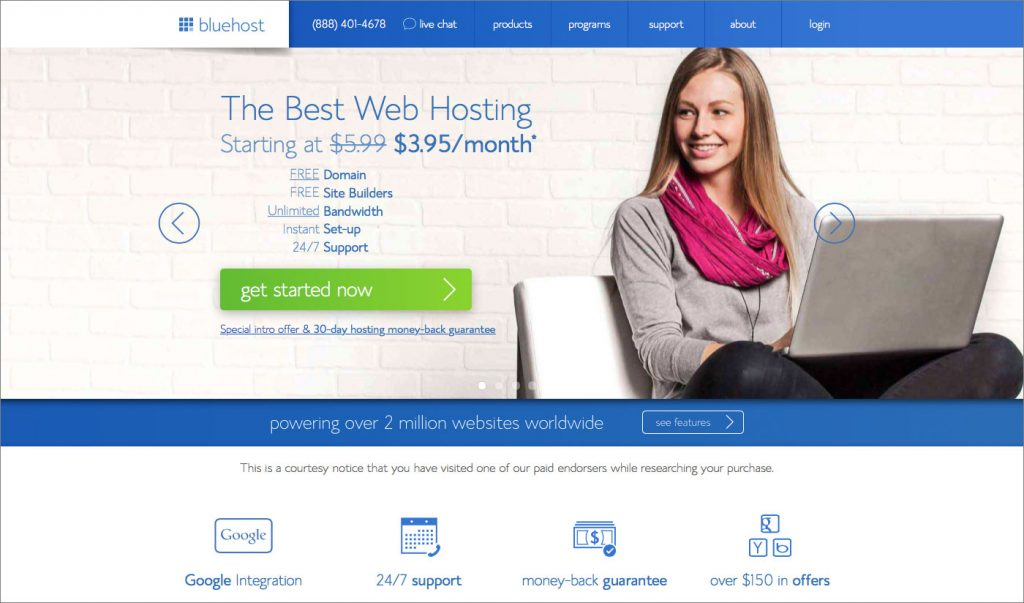 Bluehost_home