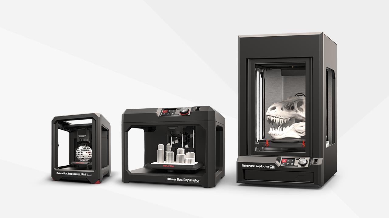 MakerBot® 3D Printers - Photo Credit: MakerBot®