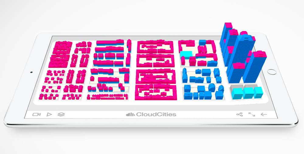 Feature 3D perspective iPad smartzoning © SmarterBetterCities