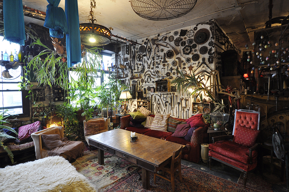 eccentric artists loft | © Splacer