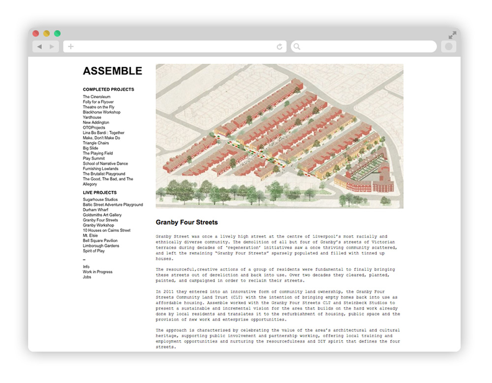 assemble - Architecture startup