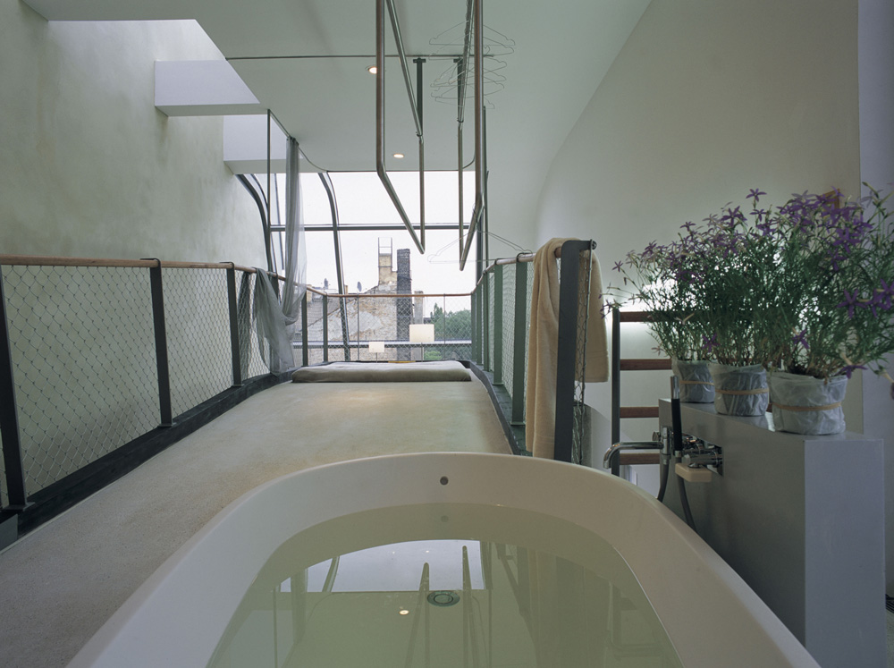 Slender interior view