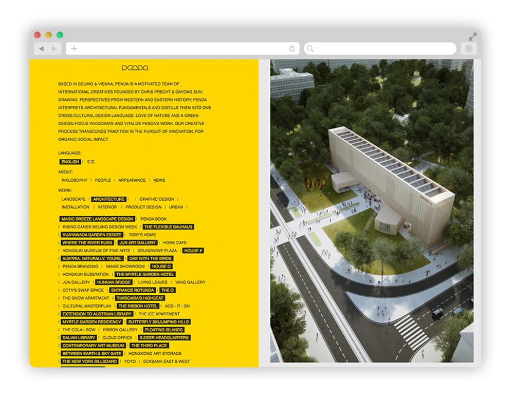 benda - Architecture startup