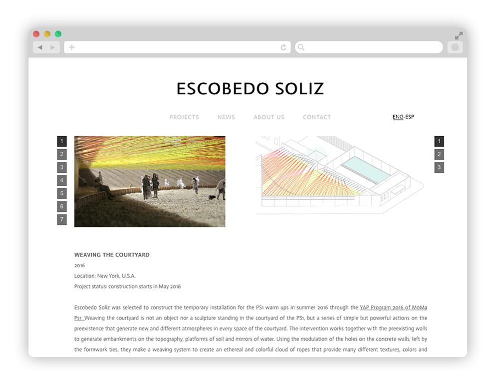 escobedo - Architecture startups