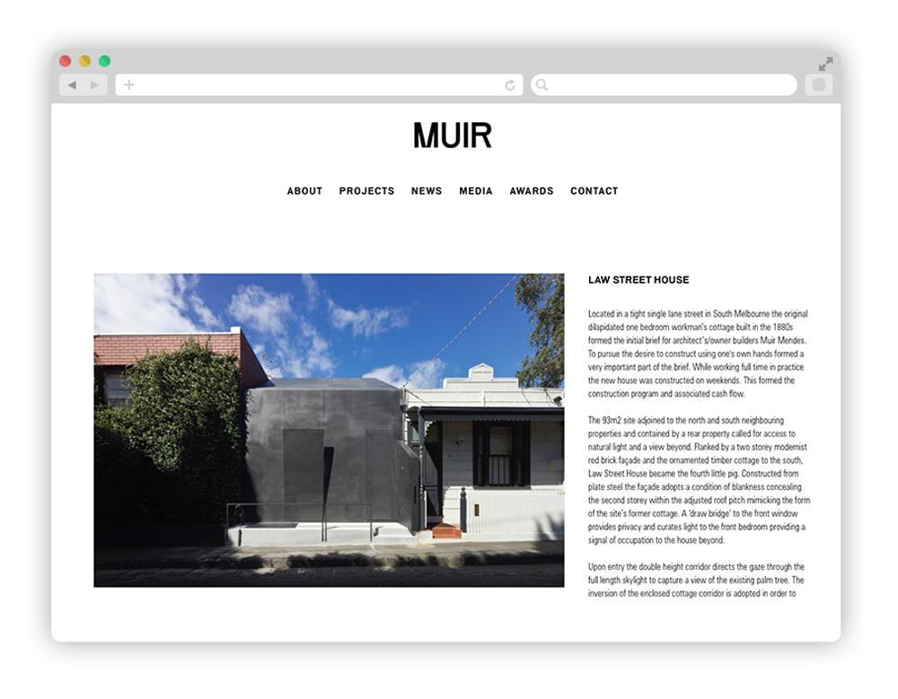 muir - Architecture startups