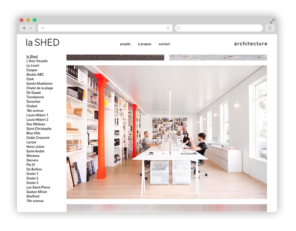 shed - Architecture startups