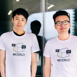 Modelo co-founders Tian Deng and Qi Su