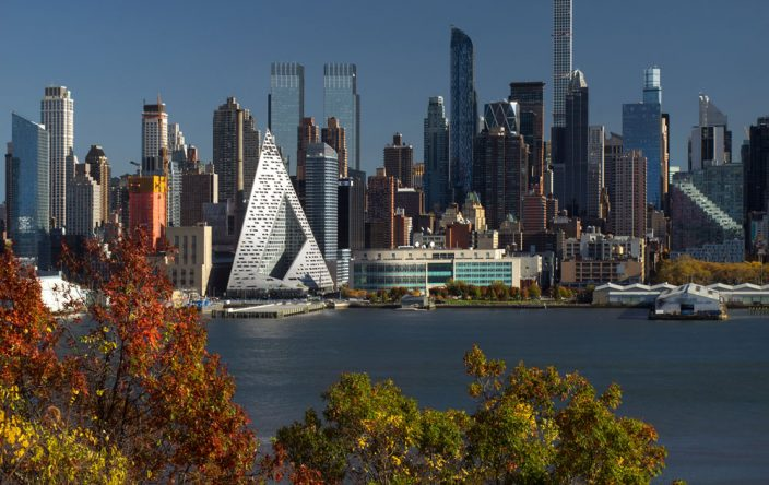 BIG's VIΛ 57 West, a new addition to the New York City skyline