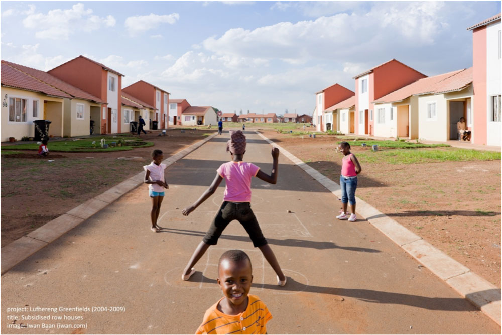 Lufhereng Housing, located West of Soweto, Johannesburg