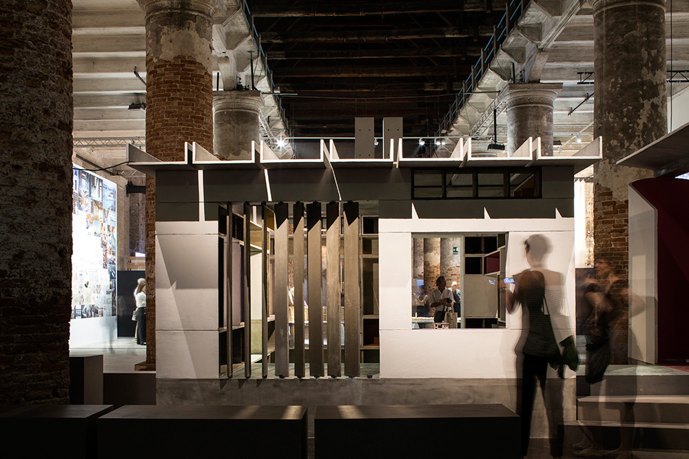 Anupama Kundoo's project at the The 15th International Architecture Exhibition in Venice 2016