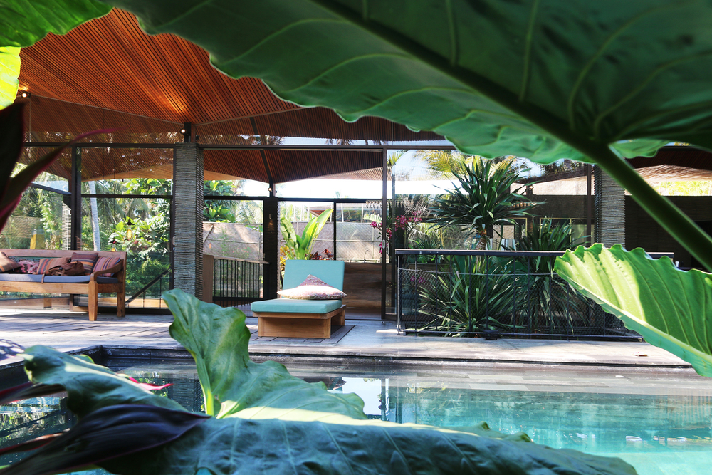 Origami House in Bali by architect Alexis Dornier