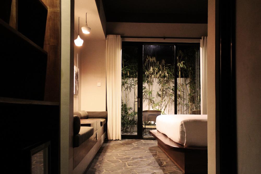 Bedroom of Roam by architect Alexis Dornier in Bali