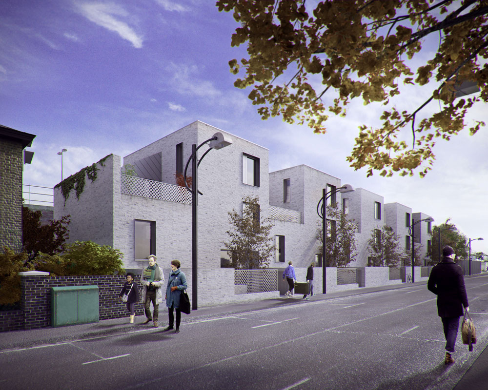 Investment banking gap site development and building new for Blenheim builders