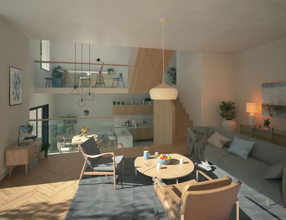 Blenheim Grove, Inhabit Homes, London, interior