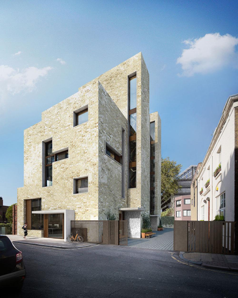 Weston Street, Inhabit Homes, London, exterior