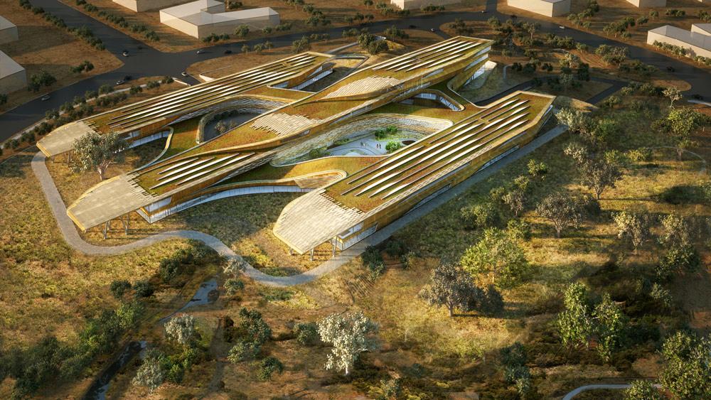 Botswana Innovation Hub by SHoP Architects