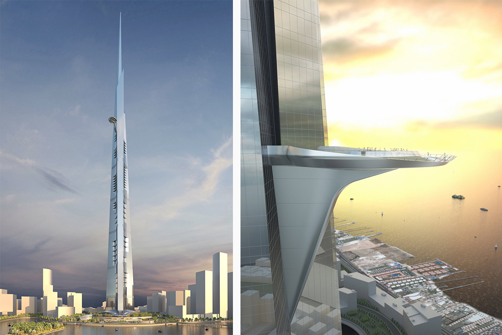 Jeddah Tower by Adrian Smith + Gordon Gill Architecture