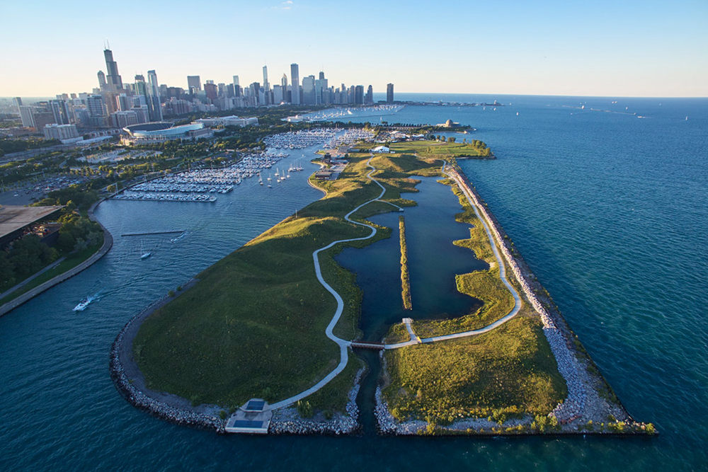 Northerly Island by SmithGroupJJR/Studio Gang Architects (Chicago)