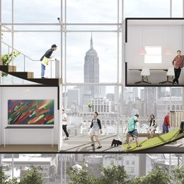 Instant City: Living Air-Right by Beomki Lee, Chang Kyu Lee