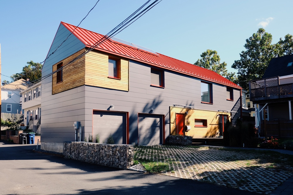 Passive house designed and constructed by Placetailor
