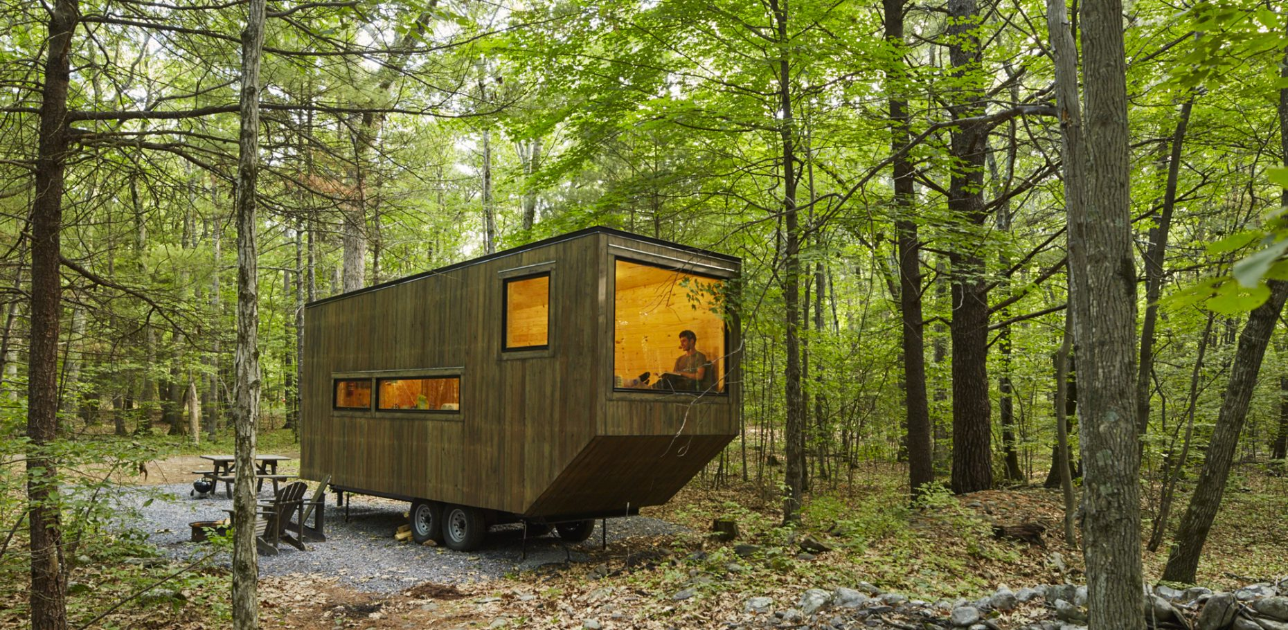 tiny house financing. This Tiny House In The Woods Can Be Rented Via Getaway. Financing R