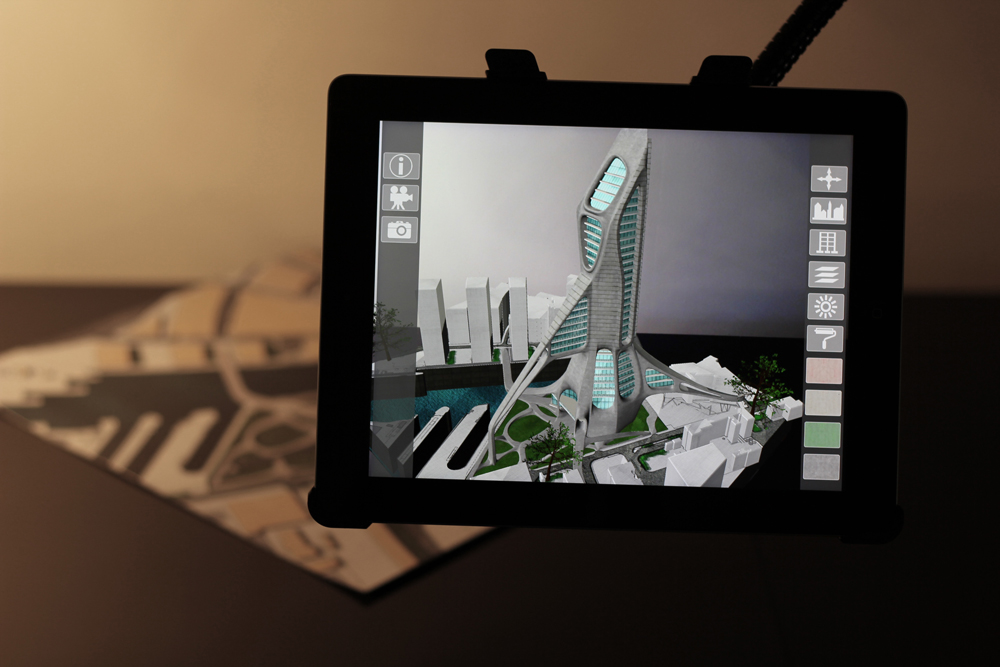 ARki is a real-time Augmented Reality visualization service for architectural models.