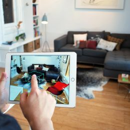 virtual reality - The app Pair allows architects to drag-and-drop 3-D models of consumer furnishings into their designs using iPhones or iPads.