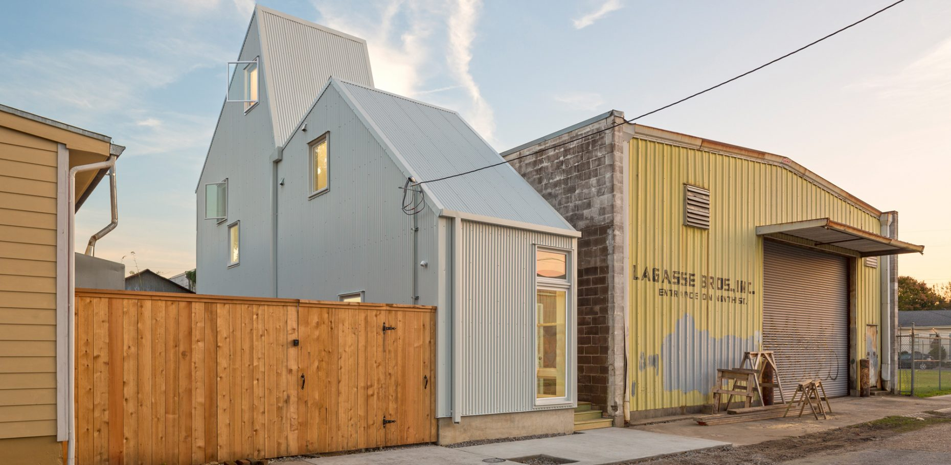 Starter Home* in New Orleans by architect OJT, Office of Jonathan Tate