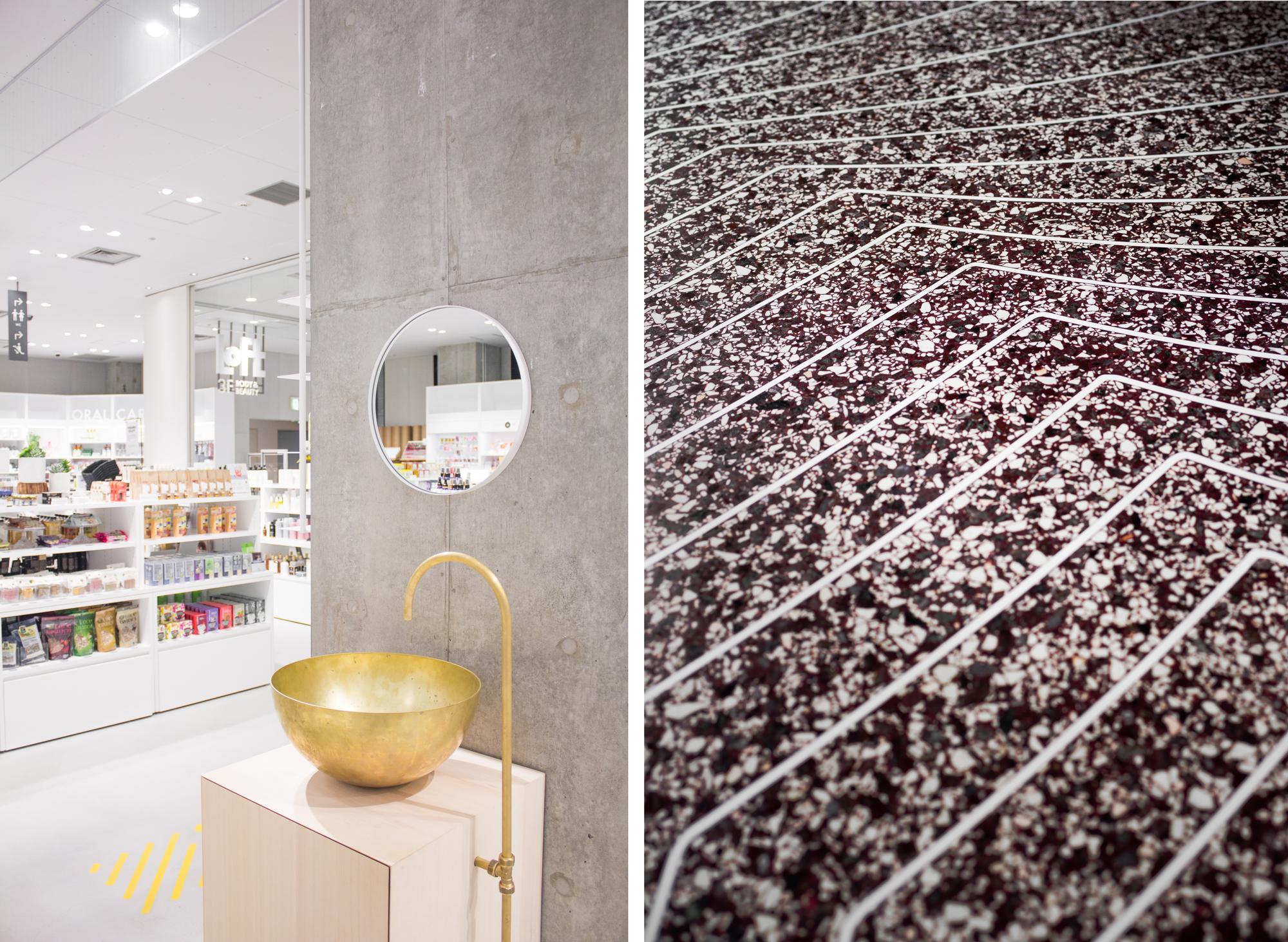 The Vanity Corner, 3D printed retail furniture by DUS
