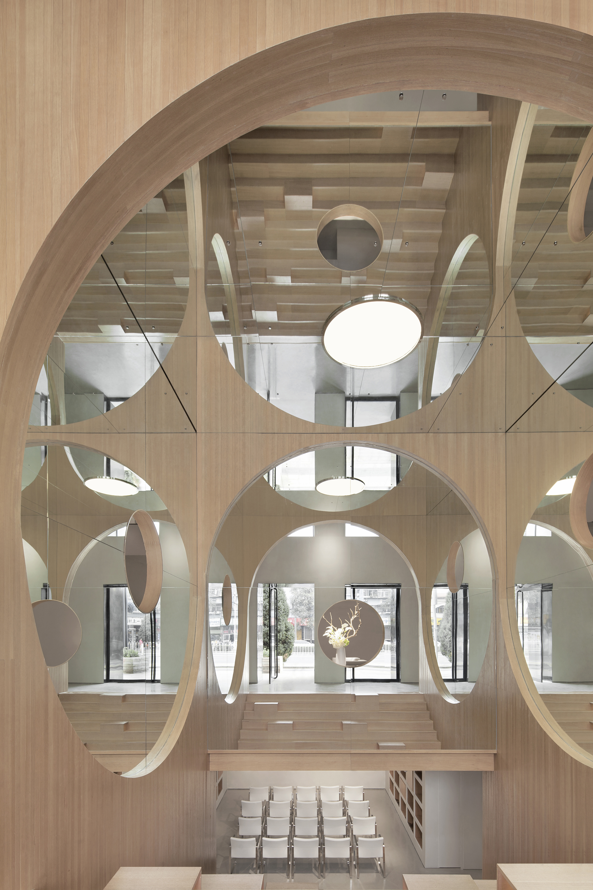 Interior work for the Art Auditorium in Beijing by PENDA