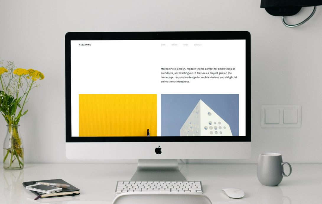 Monograph: A Website Builder For Architects, By Architects