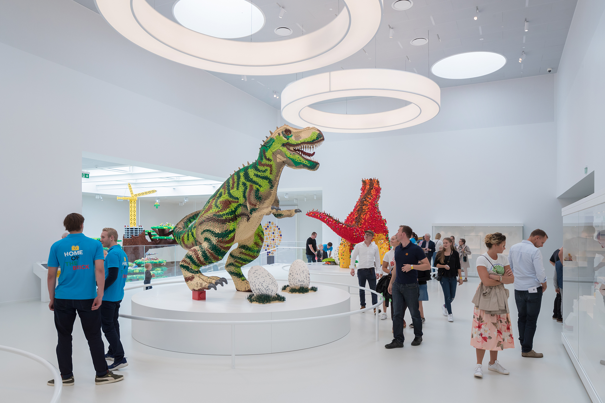 Interior of the LEGO house by BIG - Bjarke Ingles Group