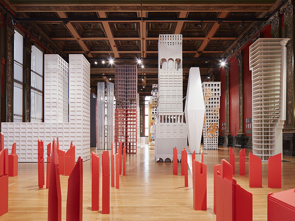 "The Chicago Architecture Biennial's ""Vertical City"" exhibition"