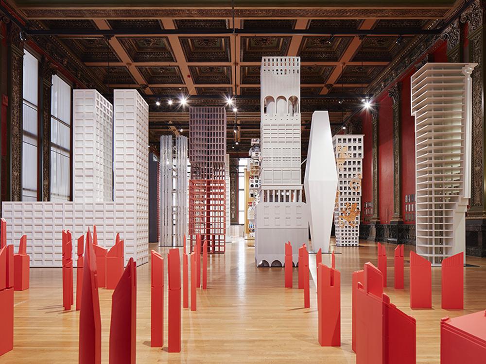 "The Chicago Architecture Biennial's ""Vertical City"" exhibition"