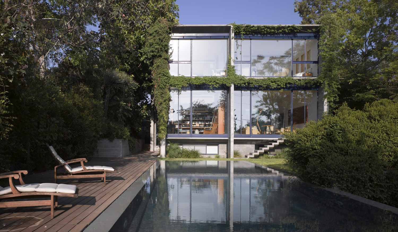 Concrete & Glass House