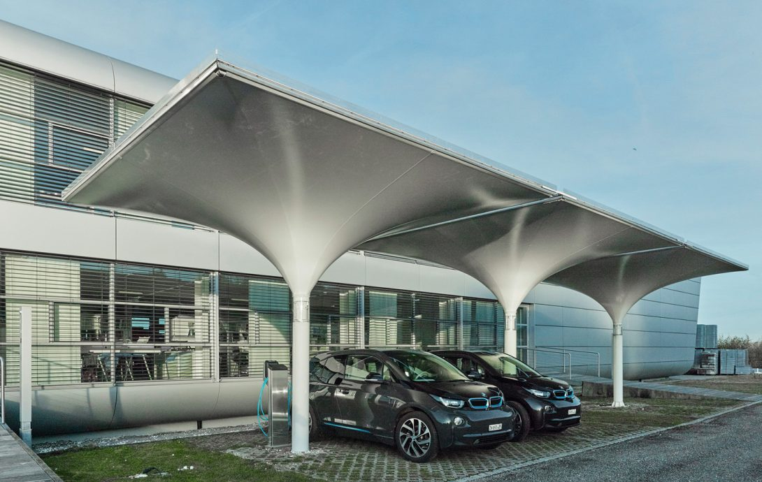 MDT-tex Solar Carport