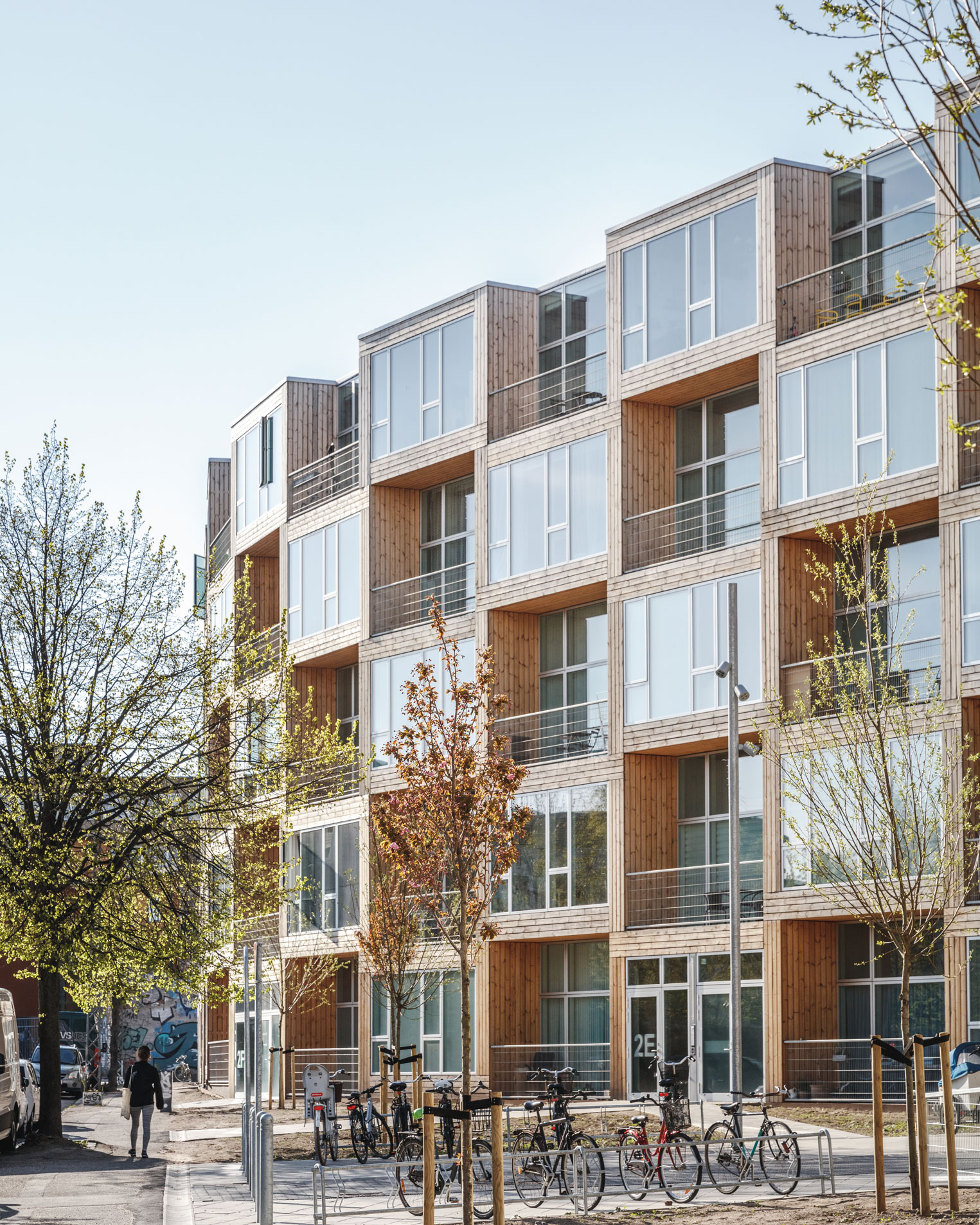 More Apartments Under Construction In Warner Center: Modular Constructed Affordable Housing In Copenhagen