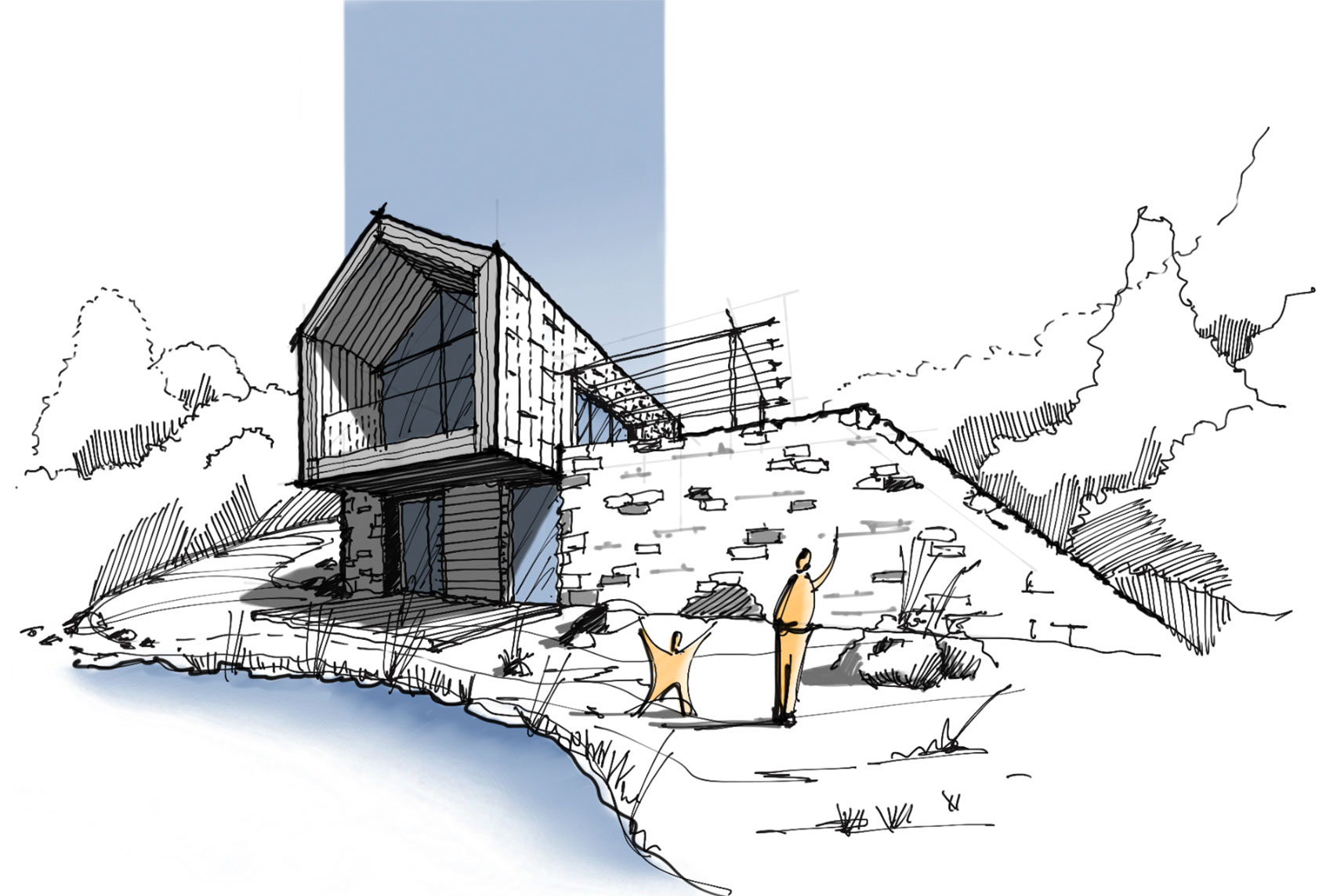 Architectural Sketching with David Drazil   Archipreneur