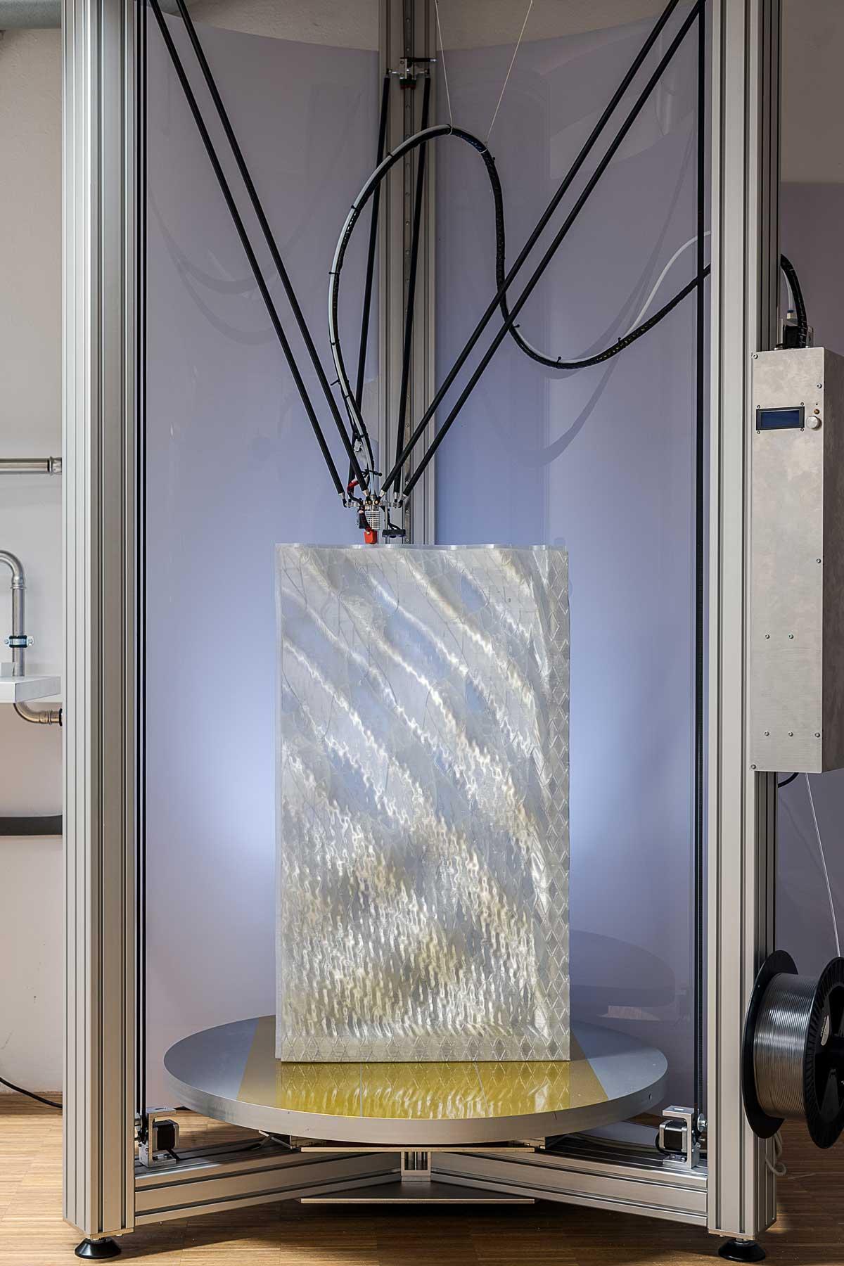 3D printed façade